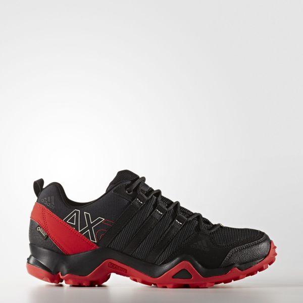 Adidas OUTDOOR AX2 GTX Gore-Tex 男鞋 戶外運動鞋 登山 黑 紅 【運動世界】 AQ4045