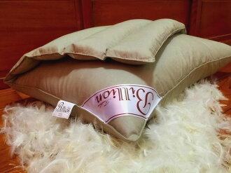 【Billion】* 3D 中空管枕 護頸枕 *卡其色 透氣 Q軟 彈性 外銷日本 台灣製造