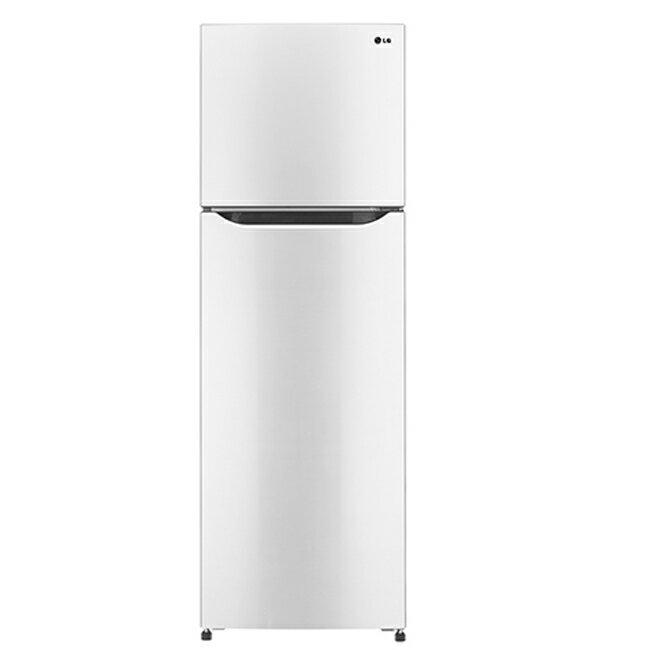 【LG樂金】253公升變頻上下門冰箱。典雅白/GN-L305W