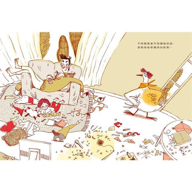 媽媽變成鴨:鄧惠文給孩子的情緒成長繪本2 (附故事朗讀QRcode+鄧醫師私房情緒祕方影音QRcode) 3