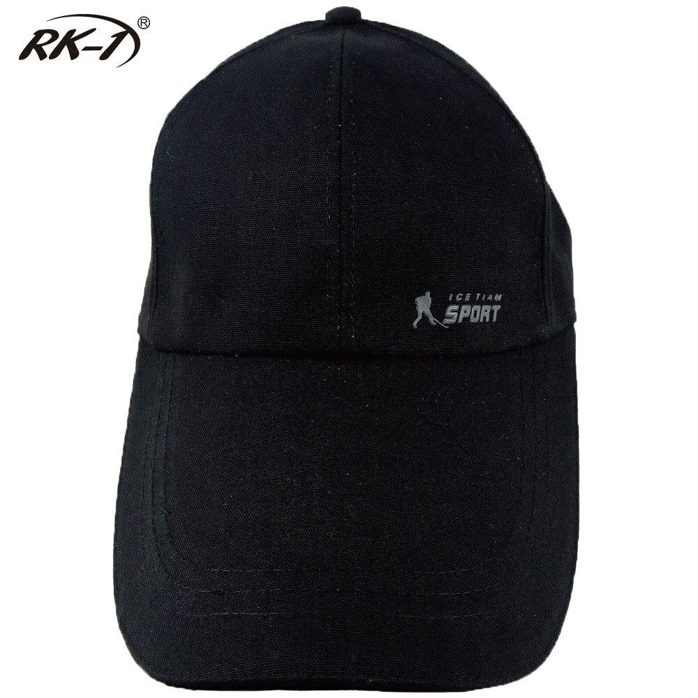 小玩子 RK-1 黑 帽子 鴨舌帽 長版型 休閒 遮陽 運動 簡約 時尚