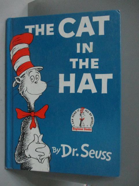 【書寶 書T2/少年童書_XEY】The Cat in the Hat_Seuss Dr.