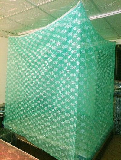 【米詩蘭】傳統型防蚊帳3x6尺(單人綠色)
