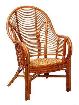 福寶單人坐藤椅