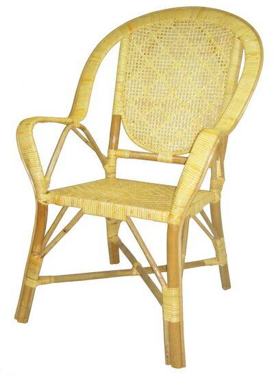福樂圓背老人藤椅