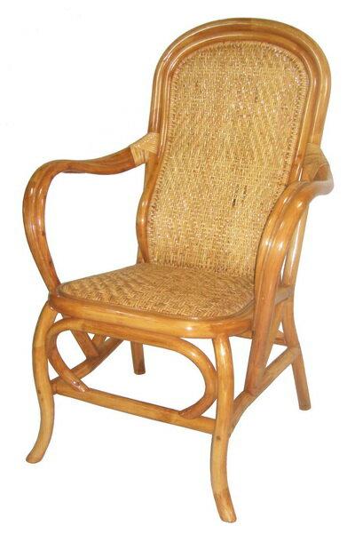 吉祥沙發底休閒藤椅