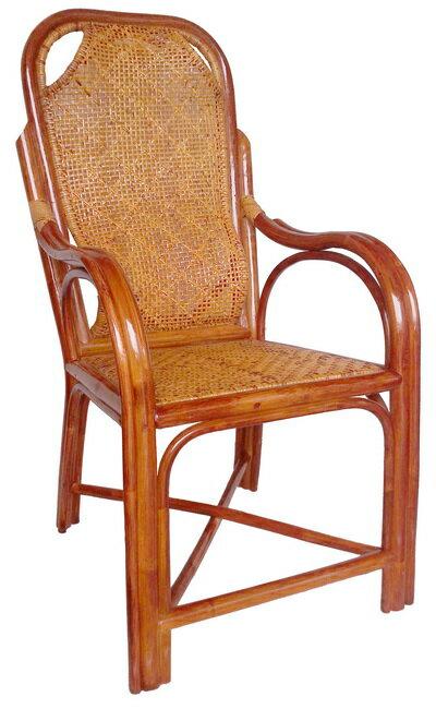【MSL】精緻雙護腰休閒藤椅 0
