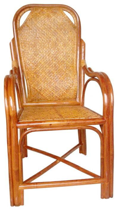 【MSL】精緻雙護腰休閒藤椅 1