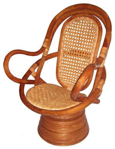 福樂藤皮旋轉椅 (中型) 1