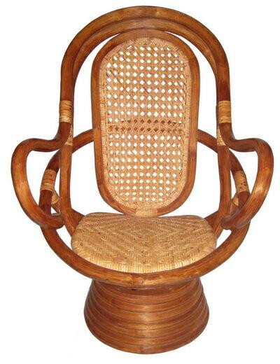 福樂藤皮旋轉椅 (中型) 0