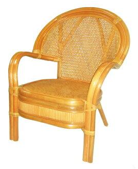 【MSL】凱薩單人坐藤椅/可盤坐椅/靜坐椅/休閒椅
