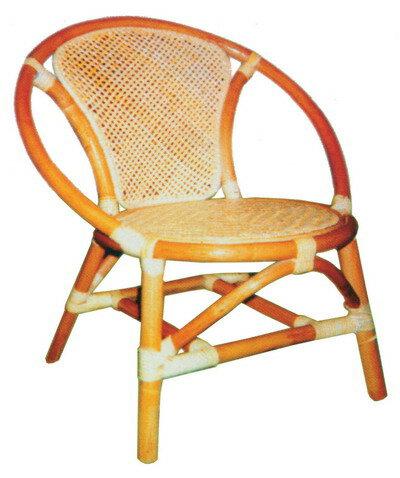 圓貝殼小孩藤椅 - 限時優惠好康折扣