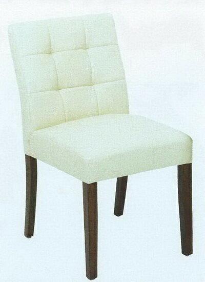 豆腐格皮面餐椅
