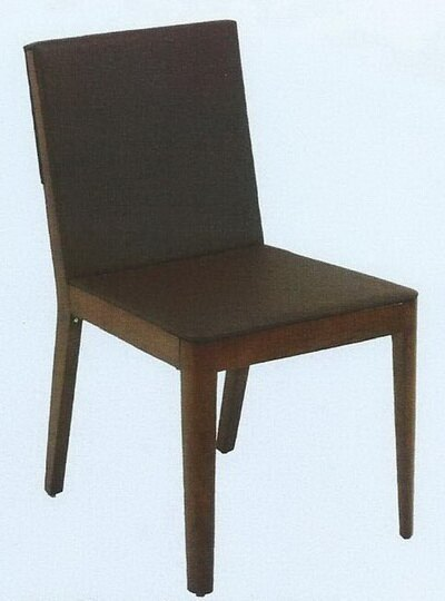 巴克萊皮面餐椅