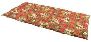 森田涼水墊(二人坐沙發墊)紅格熊