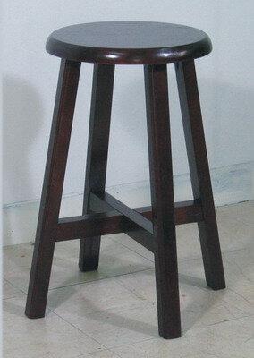 唐式原木餐椅(圓型)