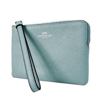 【COACH】印製LOGO素色手拿包 (1色) F15154【全店免運】 ARIBOBO 艾莉波波