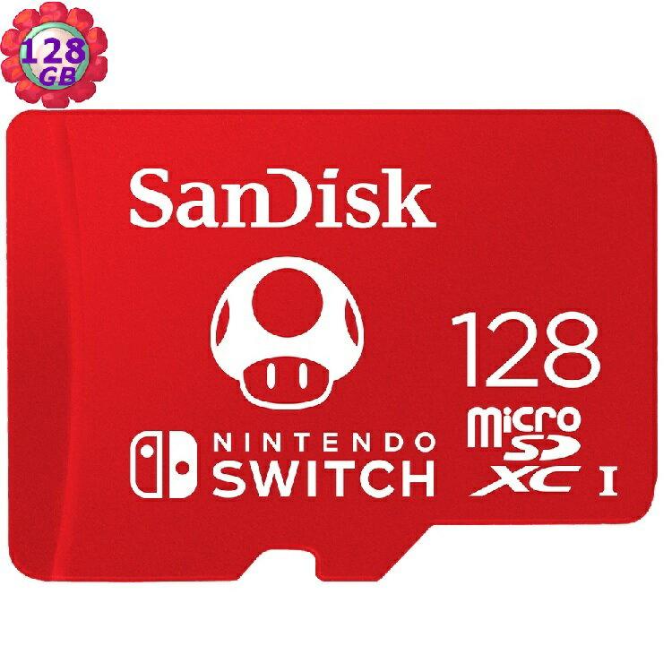 SanDisk 128GB 128G microSDXC【Nintendo SWITCH】microSD SD SDXC 100MB/s U3 SDSQXAO-128G 任天堂記憶卡