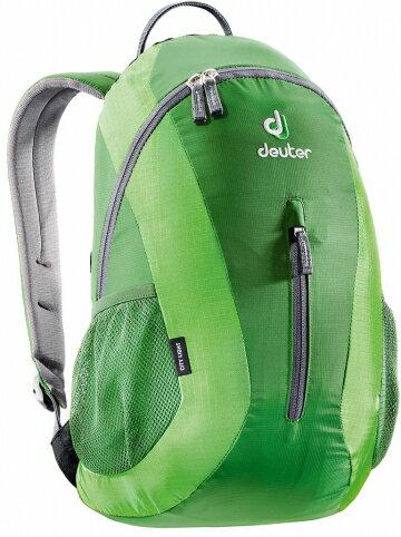 【露營趣】中和 送哨子 德國 deuter City Light 16L休閒背包 旅遊背包 攻頂包 80154 綠/淺綠