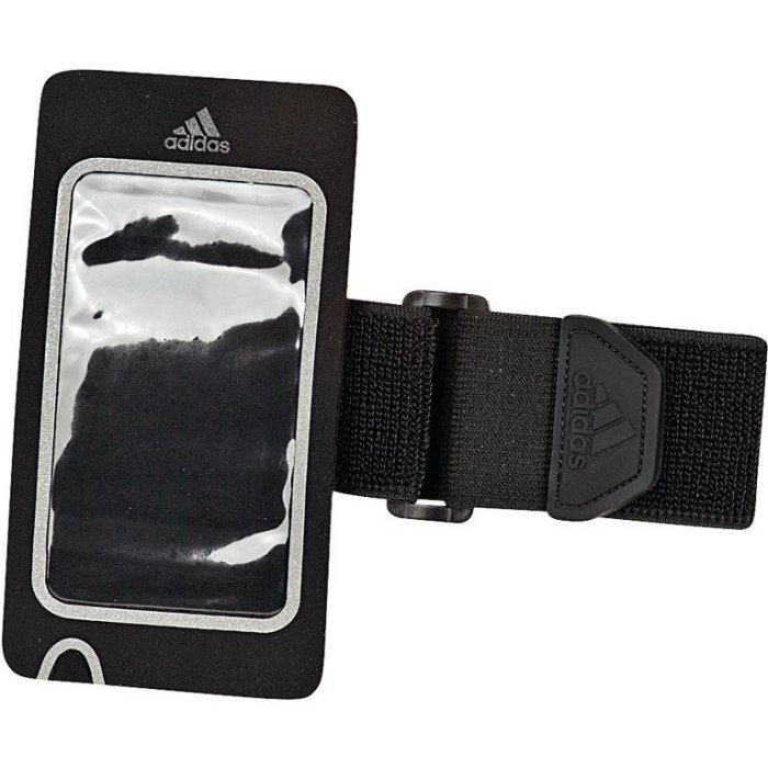 ADIDAS Running Media Armpocket 手機 運動 臂套 黑【運動世界】S94459