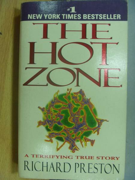 【書寶二手書T9/原文小說_MRP】The Hot Zone_Richard Preston