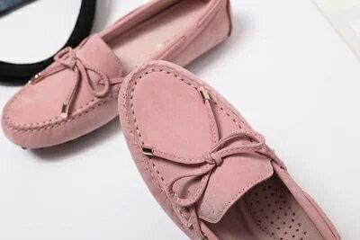 【領券折$50】Funky Princess 夏日限定款手工豆豆鞋-玫瑰拿鐵| 優惠碼:2009CP50