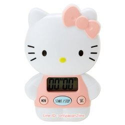 【真愛日本】17012500053  造型計時器-KT櫻桃愛心粉     三麗鷗 Hello Kitty 凱蒂貓 電子計時器 正品