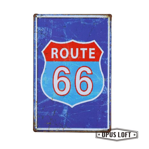 Highway復古鐵牌TP-1168