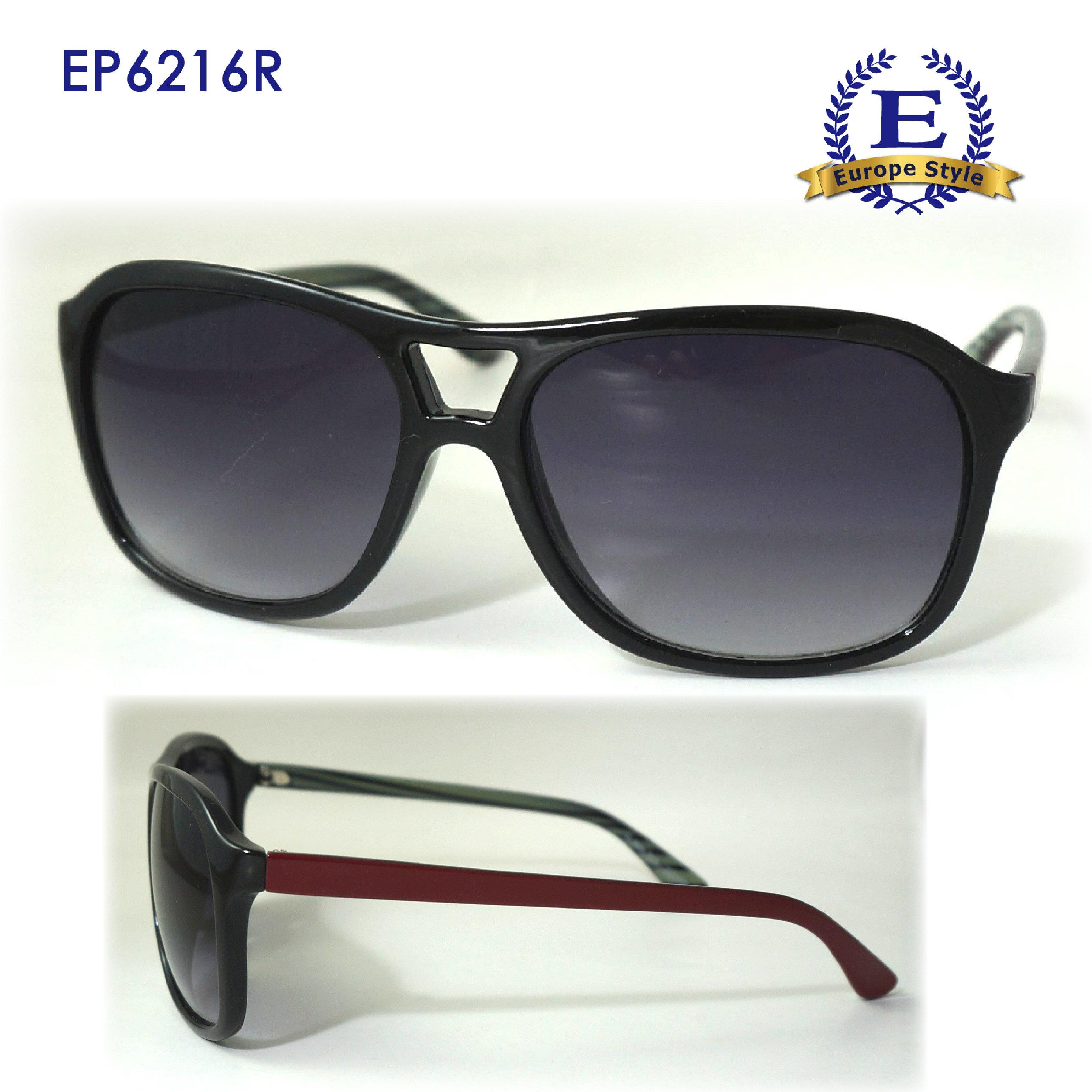 【歐風天地】太陽眼鏡 EP6216R 流行時尚 復古帥氣 流行時尚 防風眼鏡 單車眼鏡 運動太陽眼鏡 運動眼鏡 自行車眼鏡 野外戶外用品