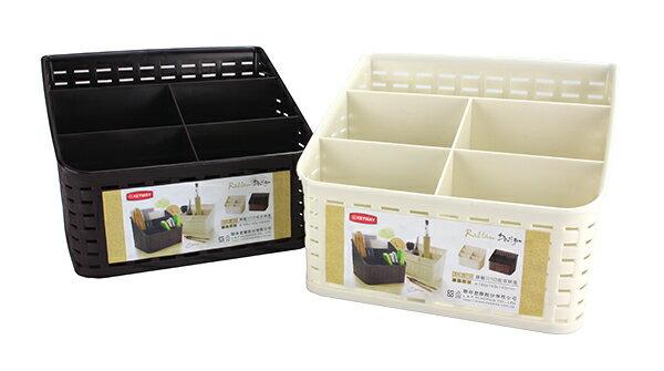 KEYWAY 聯府 KGB305 藤藝305 收納盒 (置物盒 文具盒 化妝收納盒 物品盒 文具收納盒 筆筒收納 製)