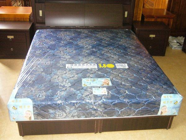 【石川家居】MA-23 緹花5尺硬式冬夏兩用彈簧床