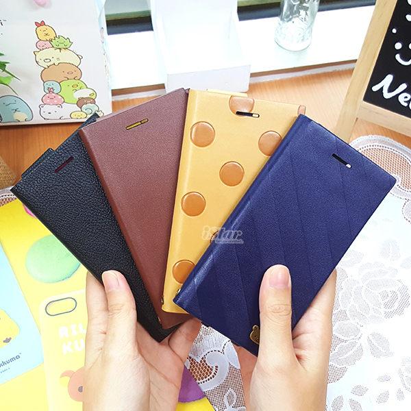 【日本 PGA-iJacket】iPhone 8 / 7 / 6s / 6 手機殼 拉拉熊 正版授權 皮革插卡 側翻式 硬殼 4.7吋 San-X -拉拉熊 / 懶懶熊 2