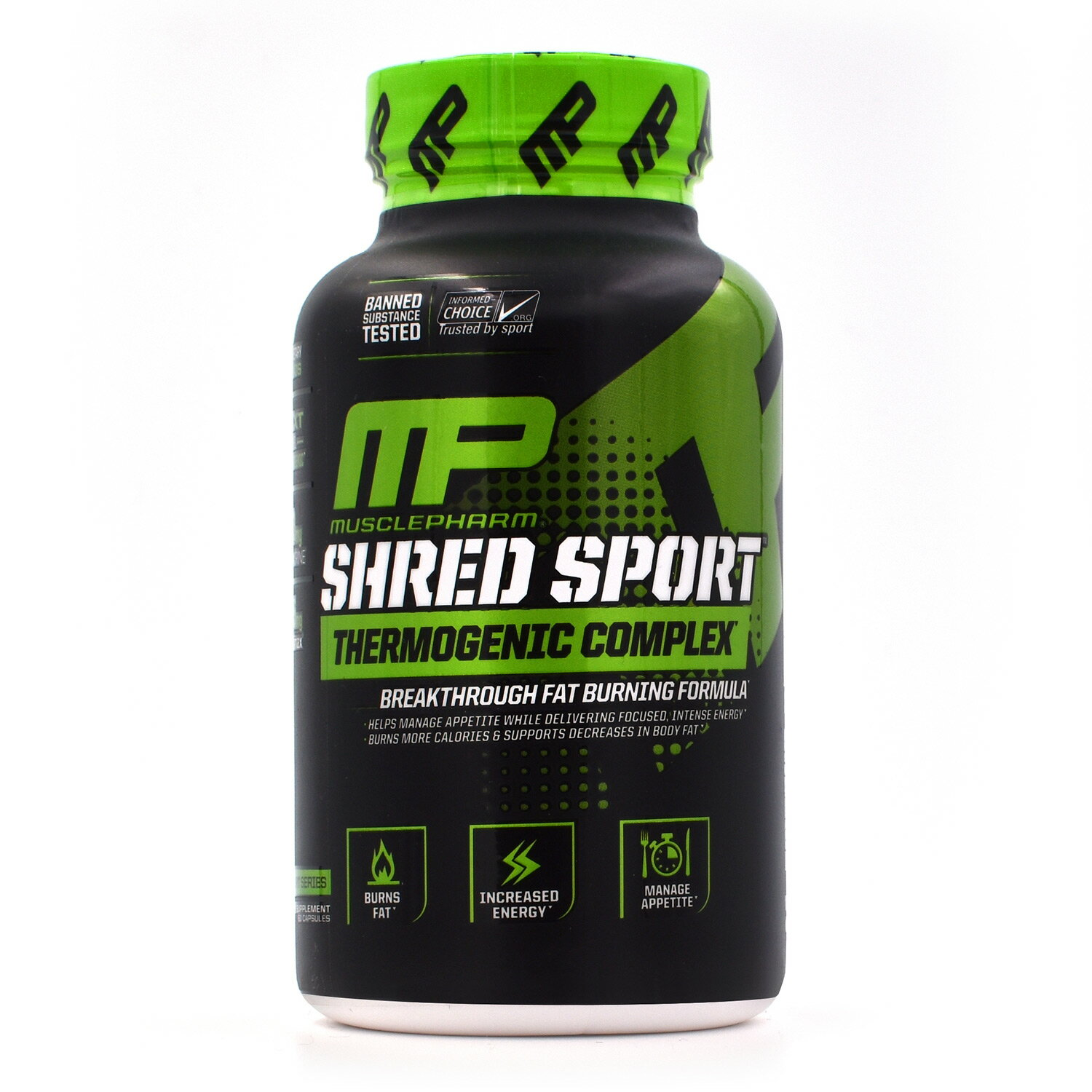 Muscle Pharm Shred Sport Thermogenic Complex Weight Loss Formula 60 Capsules