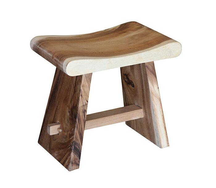 【尚品傢俱】 935-01 雨豆木木椅/小椅凳/小椅子/小木椅/矮凳