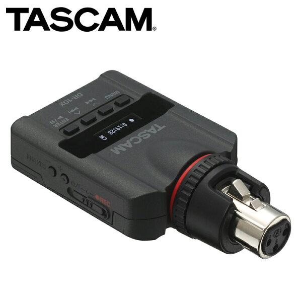 ◎相機專家◎TASCAM達斯冠DR-10X數位錄音機XLRLinearPCMRecorder公司貨