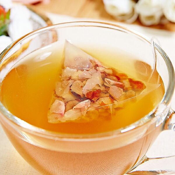 玫瑰養顏暖心茶飲5件組