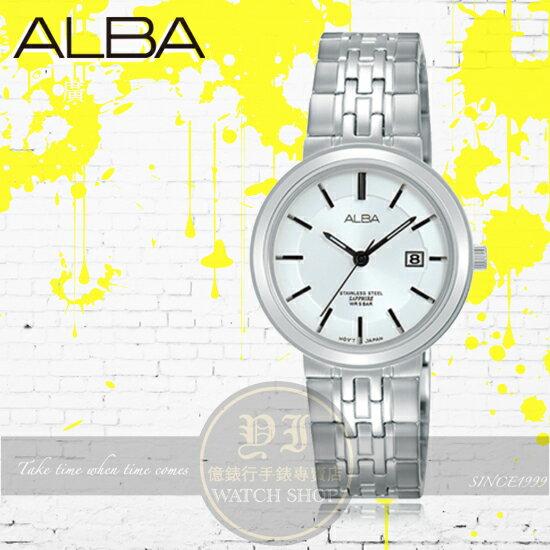 ALBA雅柏簡約時刻時尚腕錶VJ22-X254SAH7N53X1公司貨