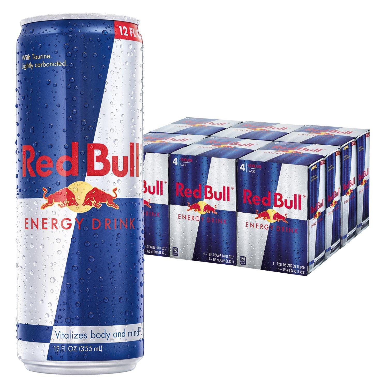 騎跑泳者 - Red Bull 紅牛能量飲料(355ml*3入) 提神飲料/提神飲品