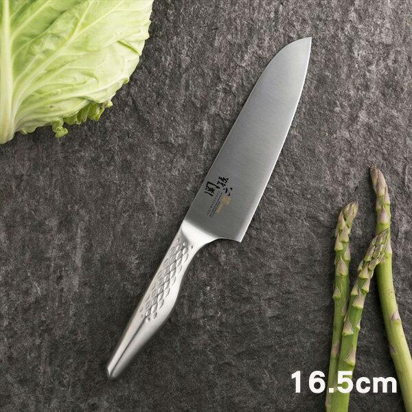 《富樂雅居》日本製關孫六匠創不鏽鋼刀三德刀(16.5cm)