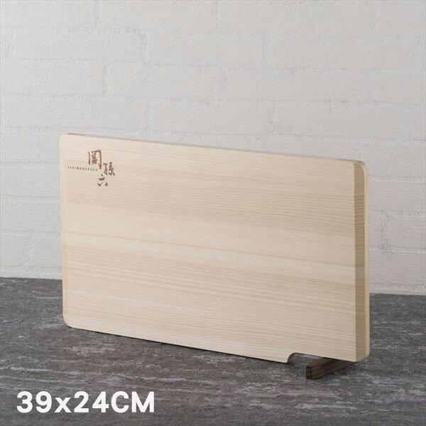 《富樂雅居》日本製關孫六可立式檜木砧板L(39*24cm)