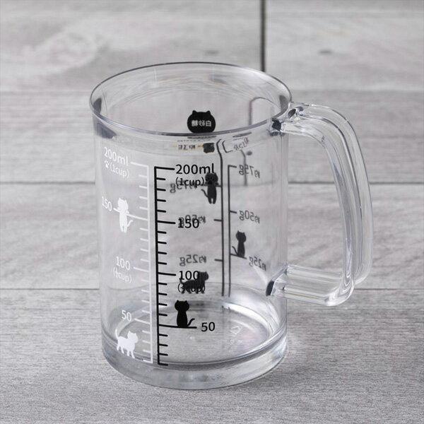 《富樂雅居》日本 貝印KAI Nyammy 貓咪 料理量杯 計量杯 ( 200ml )