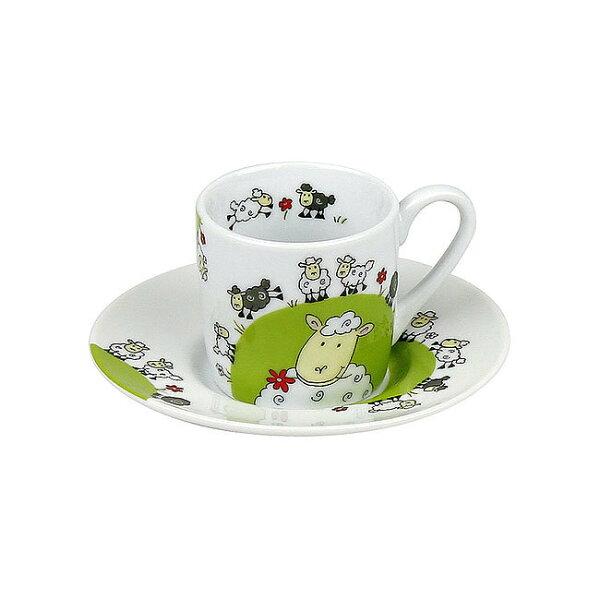 《富樂雅居》德國KonitzEspresso濃縮咖啡杯-快樂綿羊(85ml)