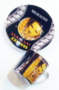 《富樂雅居》德國KonitzEspresso濃縮咖啡杯-經典懷舊電影上海特快車(ShanghaiExpress)