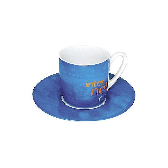 《富樂雅居》德國Konitz Espresso 濃縮咖啡杯 - Internet Cafe 電腦世界 ( 85ml )