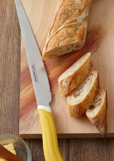 《富樂雅居》日本製川嶋SUNCRAFT吐司麵包大蒜麵包麵包刀蛋糕刀鋸齒刀(23cm)