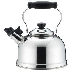 《富樂雅居》日本製 吉川金屬 不鏽鋼 優質 水壺 茶壺 琴音壺 笛音壺 ( 2.5L )