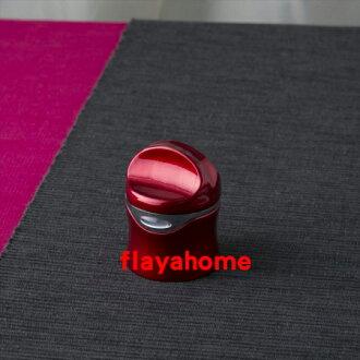 《富樂雅居》日本 貝印 KAI 扭轉型 酒瓶塞 / 酒紅色