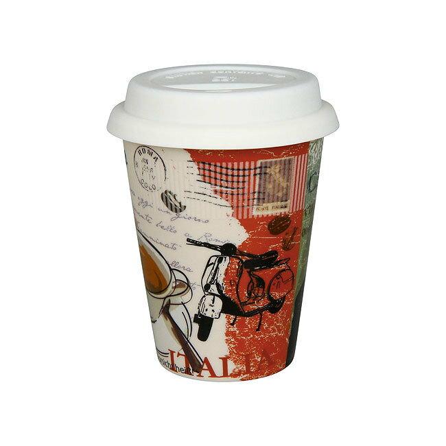 《富樂雅居》To-Go 外帶杯系列~德國Konitz馬克杯 一起去旅行~義大利?(380ml)