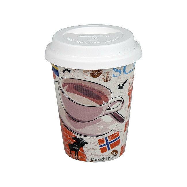 《富樂雅居》To-Go 外帶杯系列~德國Konitz馬克杯 一起去旅行~斯堪地納維亞?(380ml)