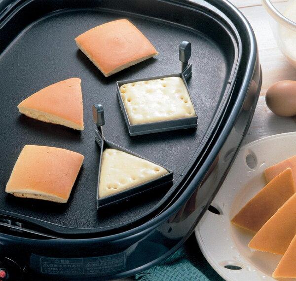 《富樂雅居》日本製 TIGERCROWN Albrid 不沾 鬆餅圈 蛋圈 ( 正方型 )